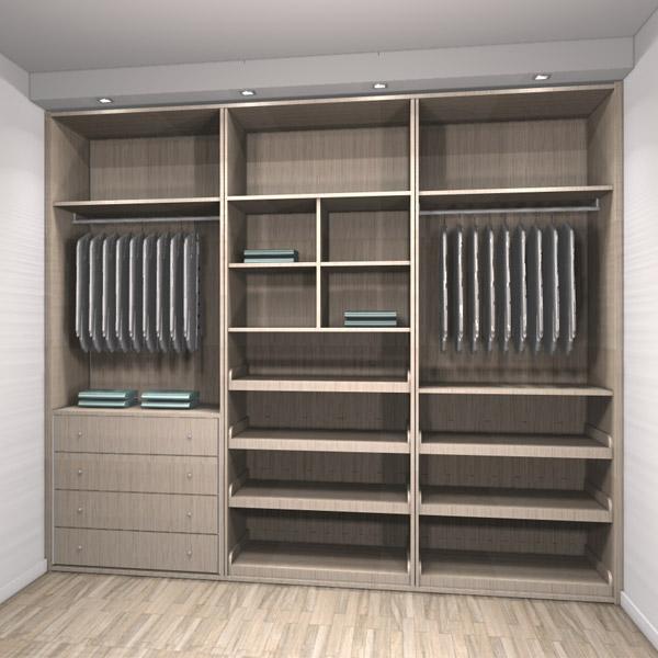 Gran almacenaje en tu armario